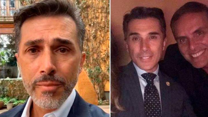"""Sergio Mayer recuerda Xavier Ortiz a un año de su muerte; redes lo tunden: """"Hueles a cárcel"""""""