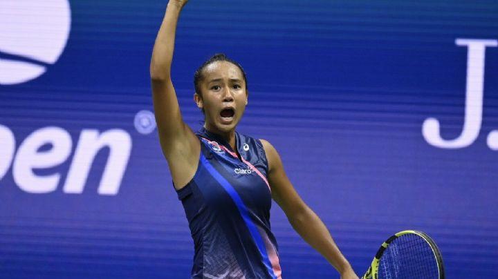 ¡No deja de soñar! Leylah Fernández se mete a semifinales del US Open
