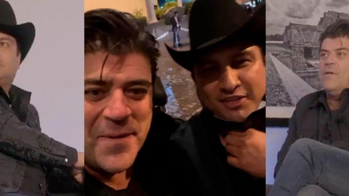 """Terror en TV: Actor de Televisa vive momento de pánico junto a famoso cantante: """"Está temblando"""""""