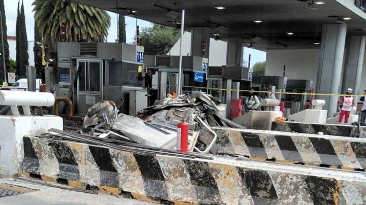 Confirman 3 occisos tras brutal colisión en la México-Puebla; VIDEO capta el momento exacto