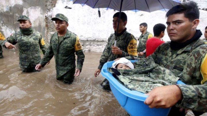 """AMLO niega militarización en México; defiende a las Fuerzas Armadas: """"Son pueblo uniformado"""""""