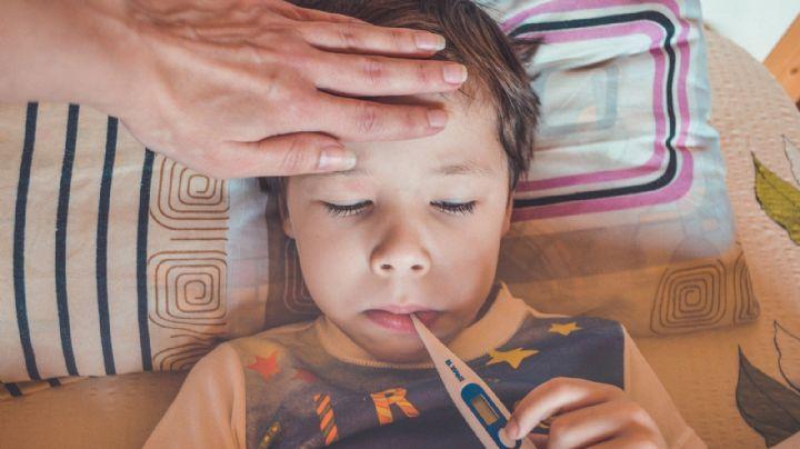 ¡Alerta! Autoridades de Puebla revelan un síntoma común en niños contagiados de Covid-19