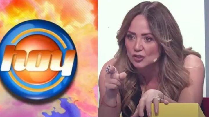 """""""Mediocre"""": Andrea Legarreta destroza a exactriz de TV Azteca en Televisa ¿y la corre de 'Hoy'?"""